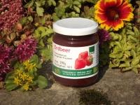 Erdbeer und Himbeer Fruchtaufstrich