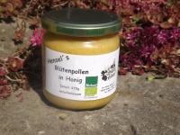 Blütenpollen in Honig